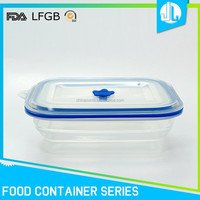 Eco-friendly silicone food grade shipping container
