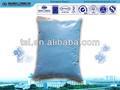 lessive en poudre de couleur bleue