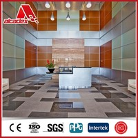 ACP color chart for interior & exterior decoration panel
