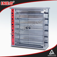 Commercial Gas grilled Chicken Machine/Chicken Griller/Grilled Chicken Machine price