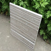Timber grain fiber cement board siding