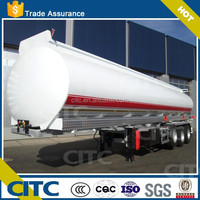 2015 Top Ranking Crude fuel/ Oil storage tank tanker semi trailer For Sale(20-60M3 Optional)
