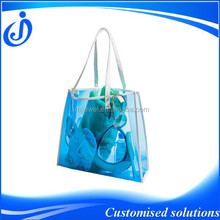 OEM Production PVC Clear Tote Bags