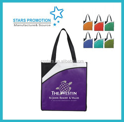 convention tote bag; promotional cavas shopping bag; non-woven grocery bag