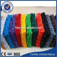 Qingdao Fapre cheap price supplier of pvc coil mats without backing water draining pvc cushion mats for korean market