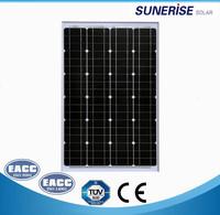 Made in China monocrystalline solar panel customized mono solar panel black mono solar panel