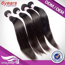 The Softtest straight natural color remy human hair , Large Stock 5A+ malaysian virgin hair