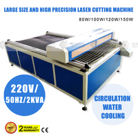 Footware flatbed large working table co2 laser cutting machine 1325