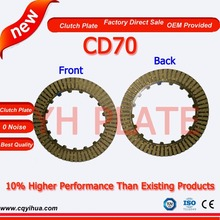 Import china motorcycle parts,OEM motorcycle parts Chongqing,3.6mm thickness cd70 plate clutch