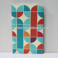 Lovely flower pattern universal stand leather tablet cover cute designed, for 7/8/9/10.1 inch tablet