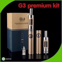 E Cig Vaporizer Bottom Double Charging 900mAh GS G3 kit vapor starter kit