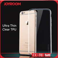 JOYROOM cheap silicone case for iphone 6 case clear tpu