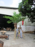 3m artificial coconut palm tree with PE leaves