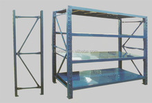 Medium duty storage warehouse rack with good appearance
