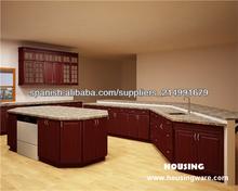 Diseño de la cocina tradicional pintado totalmente personalizado,país estilo sólido madera gabinetes de cocina