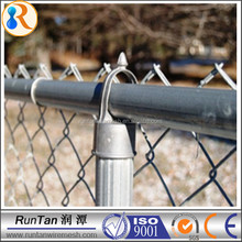 alibaba China used steel chain link fence post