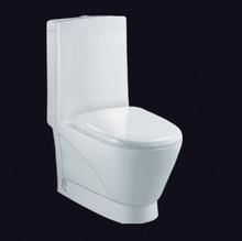 one piece ceramic color dual flush color toilet