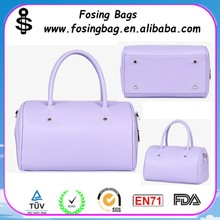Factory wholesale Women Knitted PU printing bag Be kind to customize