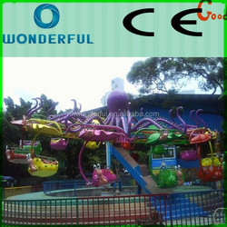 Fantastic and interesting kids flying rides amusement/double flying chairs rides