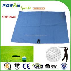 Best quality custom microfiber golf towel