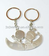 Happiness design couples keychain metal 2012