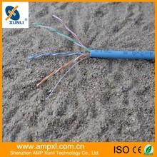 ampxl 0.511mm cca cu flat utp cat 5 lan cable
