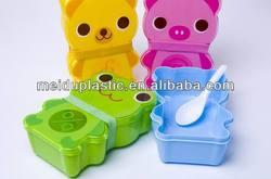 Kids animal take away food lunch box