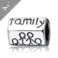 925 Sterling Silver European Style Family Design China Bead From Manufacturer