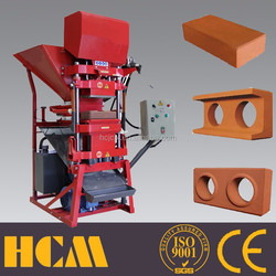 Chinese interlock hand cutting machine Eco 2700 hydraulic pressing interlock machine ecological brick machine soil cement