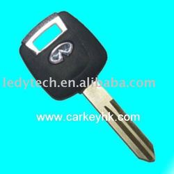 Infiniti transponder key blank, car key cover, key blank wholesale and retail