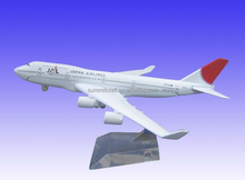 Customize Resin Material and Europe Regional Feature DESKTOP MODEL AIRPLANE