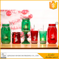 For Wedding Favor Gifts Glass Candle Holder Stem With Lid