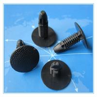 Black car plastic retaining clips car / plastic fastener and clips