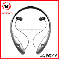 HBS 900 HV900 Bluetooth 4.0 In-Ear Noise Cancelling earphone cheap custom wireless headphone with fm radio