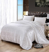 bedspreads, sheets, quilt covers & comforters/ Jacquard Fabric 100% Mulberry silk quilt(Fill 5 kg)