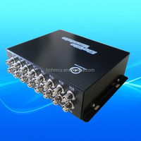 Fiber Optic to BNC Cable Transmitter, Fiber Converter for Camera Analog
