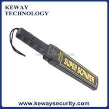 High Sensitive Hand held Metal Detector, Handheld Metal Detector with Leather Case