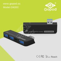 Gopod USB Hub 3.0 and Card Reader for Microsoft Surface 2 and Pro 2 (S-USBHub3 in1-3.0)