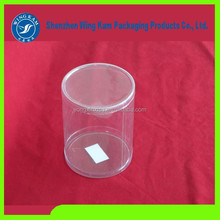 Clear New Cylinder Curled Edge Transparent Pack