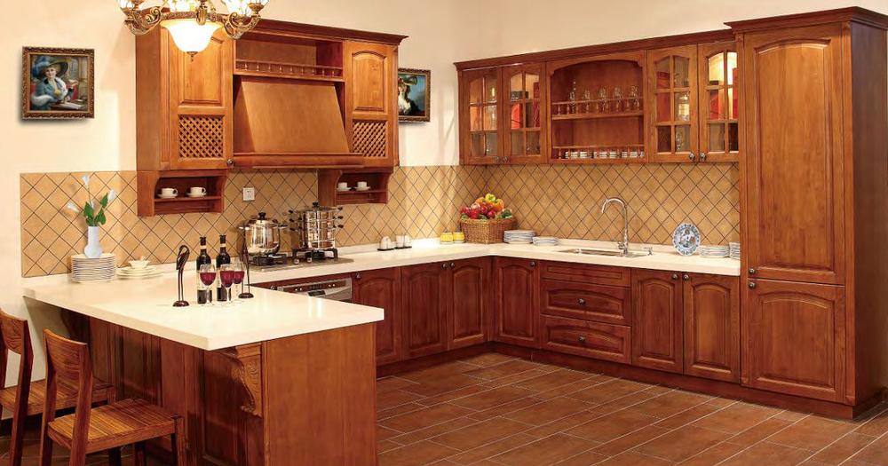Diseño tradicional de madera maciza de estilo americano mueble ...