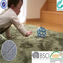 long pile 100% polyester microfiber baby crawling mat
