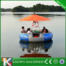 Known brand competitive price offer bbq donut boat,leisure BBQ donut boat/grill boat