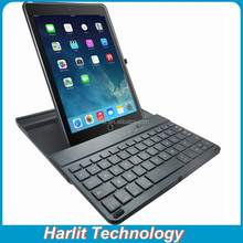 Best Price Slide Out Bluetooth Keyboard Cover Case For iPad Air 2 Swivel Hard Case Case Keyboard Bluetooth For iPad Air2