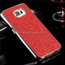 luxurious hard pc case for samsung galaxy s6,glitter bling case for samsung galaxy s6 edge