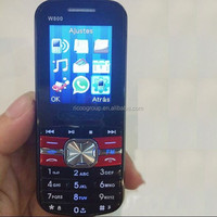 low price china mobile phone W800 with whatsapp made in china alibaba