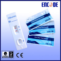 China Medical device / Albumin price ! Human Albumin Rapid Test / Medical diagnostic test kit blood