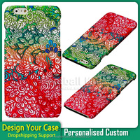 Custom Soft Pastel Rainbow Doodle Art printed pc mobile phone case for iPhone6 dropshipping