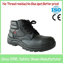 SF1822 Sport style black comfortable acid resistant steel toe high ankle safety shoes
