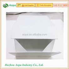 High quality magnetic white folding paper box for package