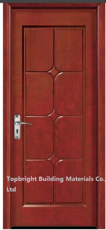 Moderna de la alta calidad de madera de teca principal for Precios de puertas de madera entrada principal